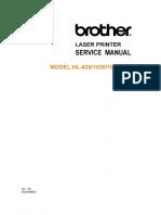 HL-820, HL-1020, HL-1040, HL-1050 Parts and Service Manual