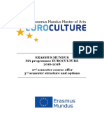 2nd 3rd Semester Euroculture Consortium Course Guide 2016-2018 (1)