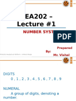 PEA202 Lec#1 Number System
