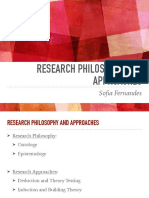 Week 2 - Research Philosophy and Approaches PDF