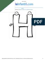 Imprimir Letra H