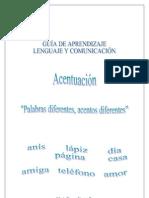 GUÍA DE APRENDIZAJE DE LENGUAJE Y COMUNICACIÓN