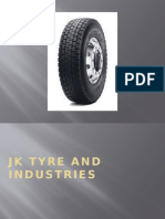 JK Tyre and IndustriesPPT