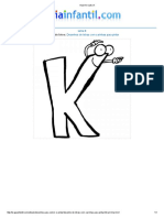 Imprimir Letra K