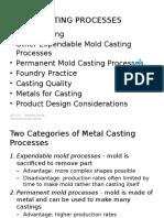 Metals Casting