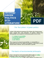 ECO LIT-Green Politics