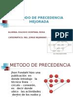 Metodo de Precedencia