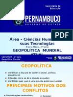 A Geopolítica Do Mundo Atual