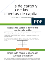 Reglas de Cargo y Abono de Las Cuentas