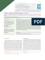 Diabetes Mellitus and Medicinal Plants