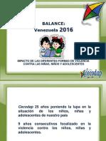 Informe Somos Noticia 2016 Cecodap