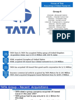 House of Tata - Acquiring a Global Footprint