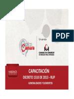 Capacitacion Rup d1510 de 2013