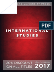 International Studies 2017 catalog