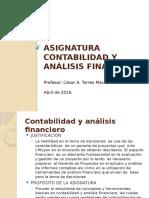 Conferencia Contabilidad y Análisis Financiero César Torres