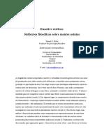 Enactive Aesthetics Philosophical Reflec Trad