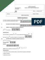 2º Medio Guia Reforzamiento Operatoria Combinada Numeros Racionales