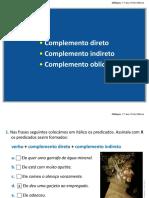Complementos Direto, Indireto e Obliquo (2)