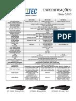 Especificações HVR Multitec 5 Em 1