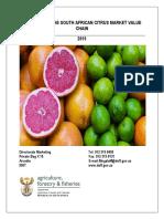 Citrus Market Value Chain 2015