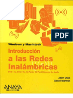 Introduccion a Las Redes Inalambricas-Anaya Multimedia-Adam Engst-Glenn Fleishman Para Windows Y Macintosh