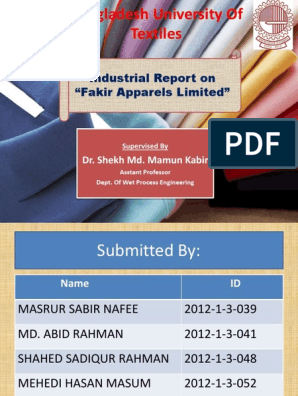 Fakir Appaerls Ltd  | Knitting | Textiles