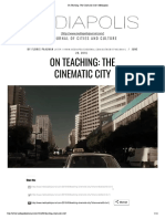 On Teaching_ the Cinematic City _ Mediapolis
