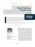 2-Brand Preference - Durable Goods