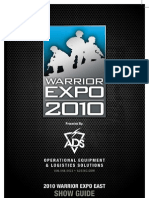 Warrior Expo East 2010 Show Guide