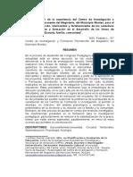 Artículo Araguaney -Montes