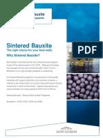 SGP Sintered Bauxite Data Sheet 2016