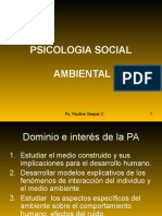 Psicologia Social Ambiental