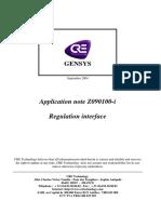 3 A40Z090100i en Regulation Interface