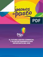 Brochure Vamonos a Paseo