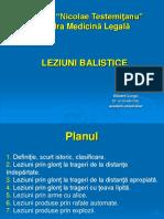 LEZIUNI BALISTICE