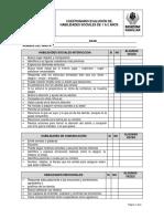 Evaluacion Habilidades Sociales 1-2 Años