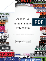 Myplates Product Brochure