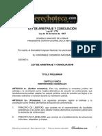 2010 11 17 Conciliacion Arbitraje Arbitraje