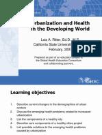 77 Urbanization and Health FINAL 0