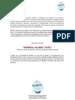 Taller Memoria Palabra y Papel - Muchos Mundos.pdf