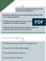 Weight Gain in Pregnancy-1