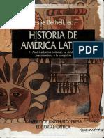 Tomo 1 - Bethell,l - Historia de America Latina . Tomo i