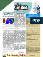"""07-11-2010 Boletín Semanal """"El Conquistador"""" una producción de la Casa de Todos."""