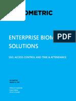 Enterprise Biometric Solution