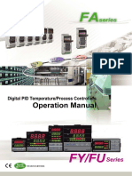 Operation Manual of TAIE (FU,FY,FA)