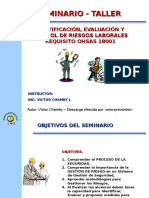 Identificacion ,Evaluacion de Riesgos Laborales