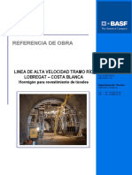 Hormigón para revestimientos de túneles