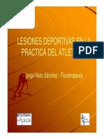 Lesiones Deportivas en La Practica Del Atletismo