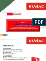 Capacitación de Primeros Auxilios (RCP)
