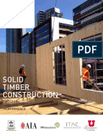 Solid Timber Construction Report August 2015